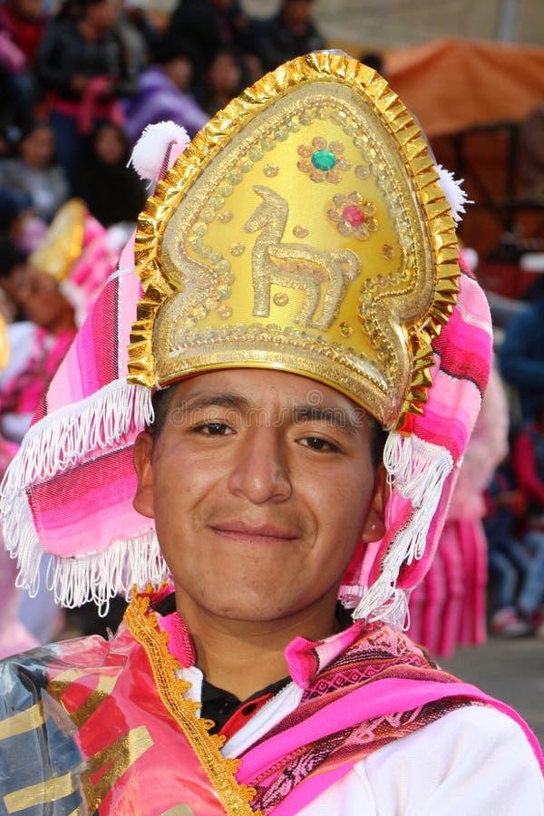玻利维亚的节日 库存照片