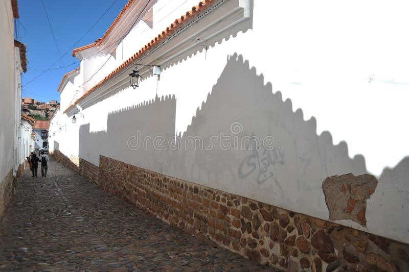 玻利维亚苏克雷 库存照片