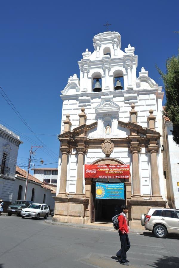 玻利维亚苏克雷 免版税图库摄影