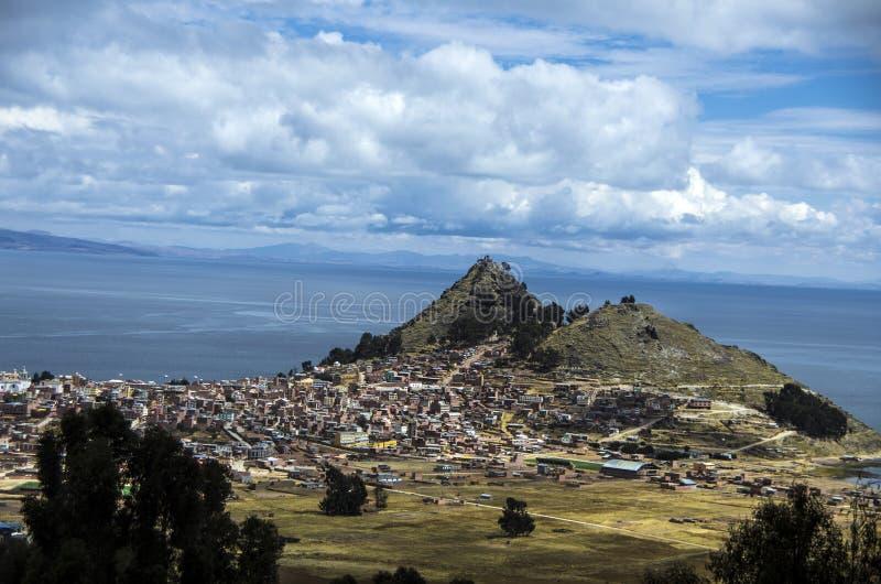 玻利维亚copacabana 图库摄影