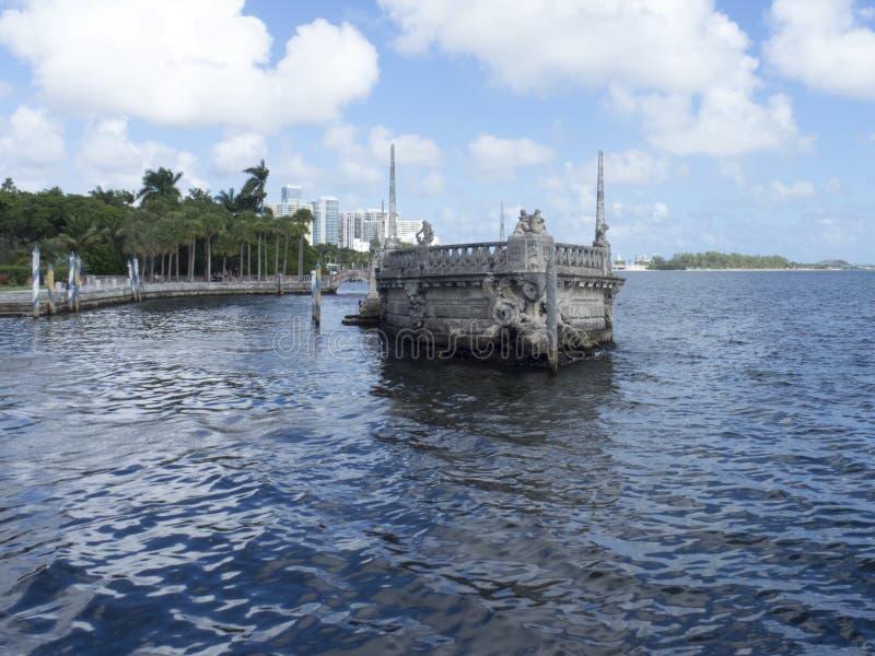 别墅比斯卡亚,迈阿密 免版税图库摄影