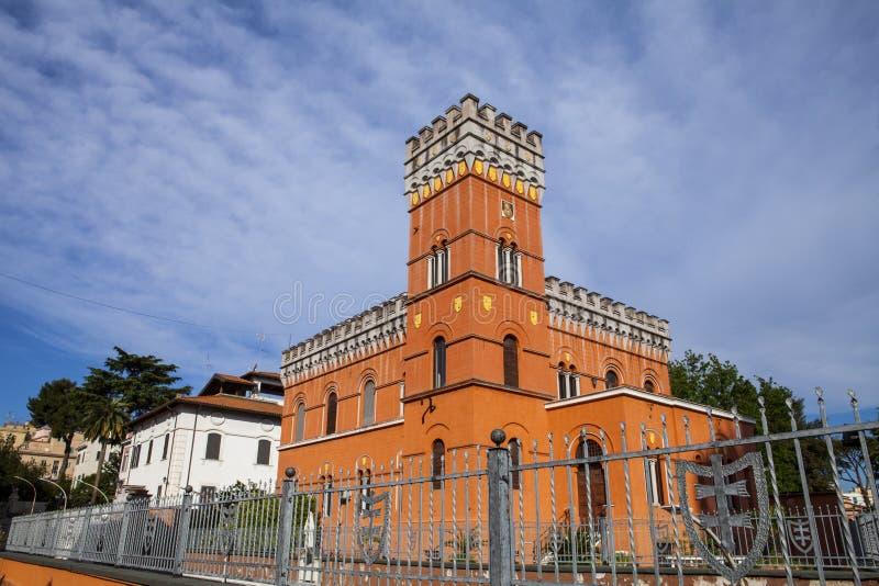 别墅Lituania,罗马 免版税图库摄影