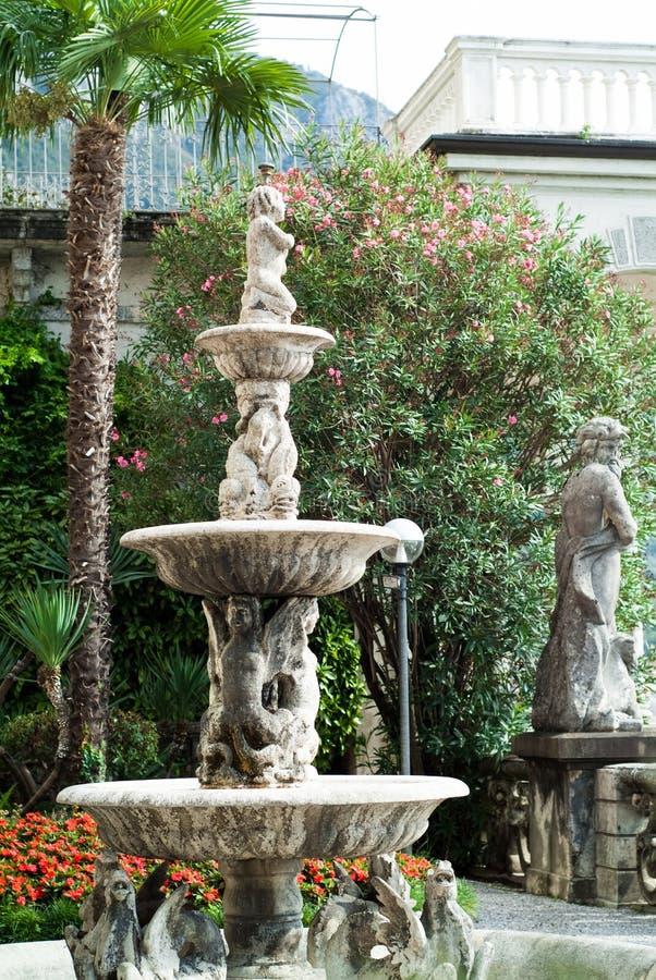别墅Monastero植物园 免版税库存图片