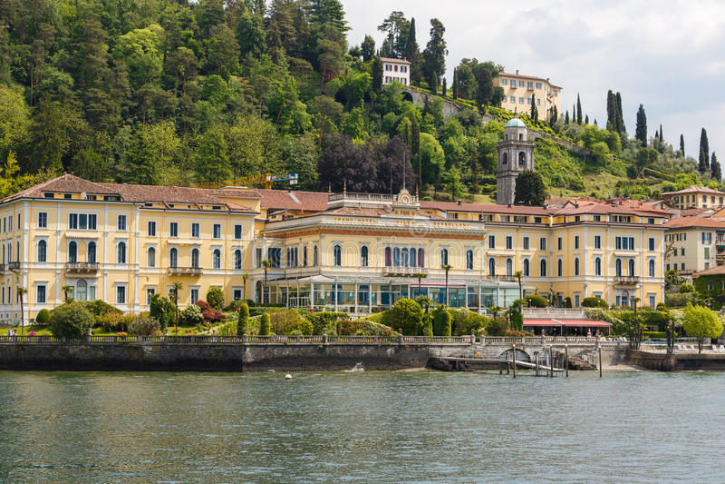 别墅Serbelloni在贝拉焦,意大利 库存照片