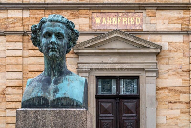 别墅Wahnfried拜罗伊特2016年-巴伐利亚路德维希的国王II 库存图片