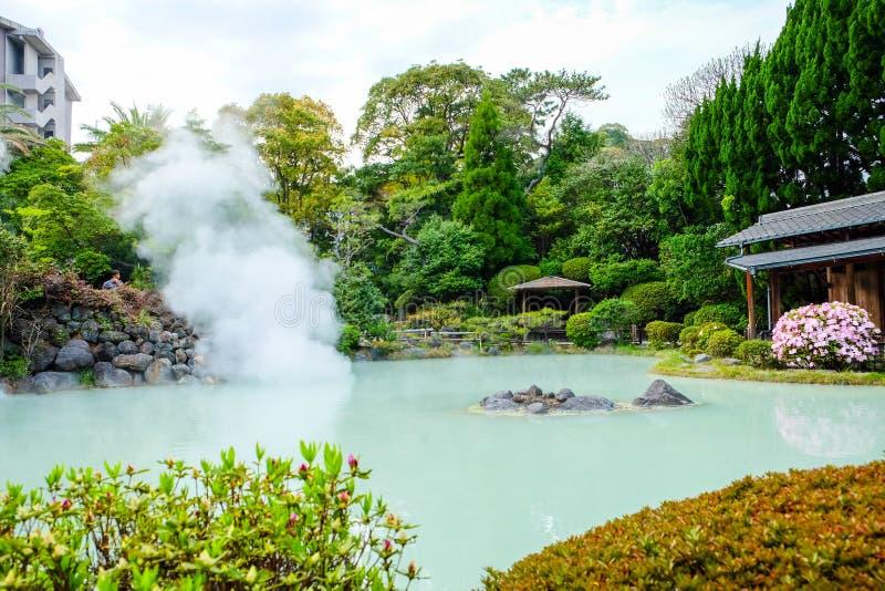 别府市风景在日本 库存图片