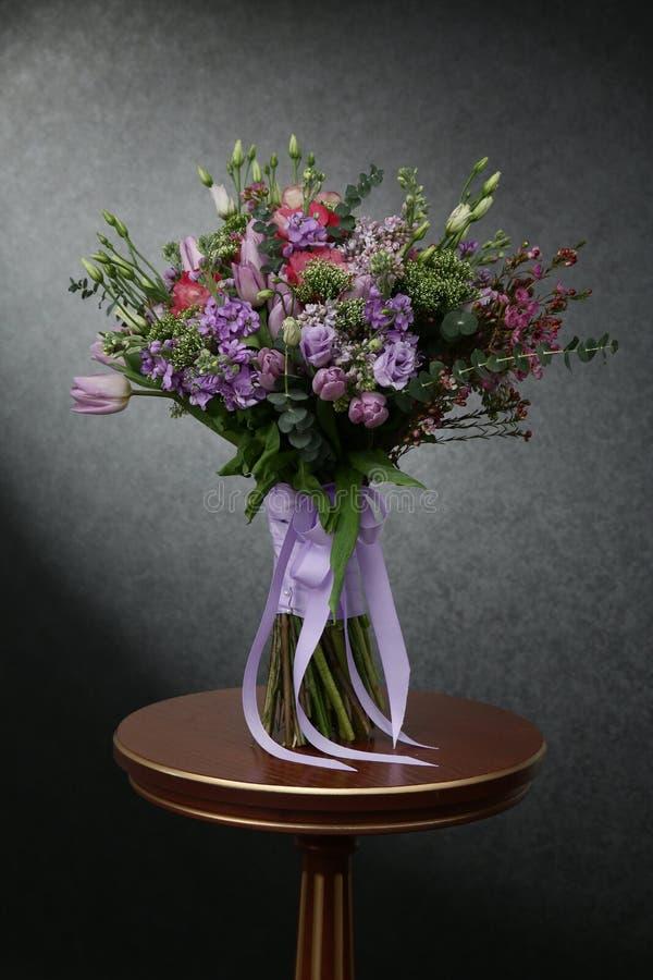 别致的花富有的花束  库存照片