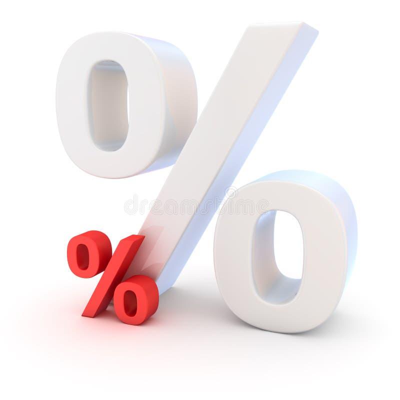 到处利率 向量例证