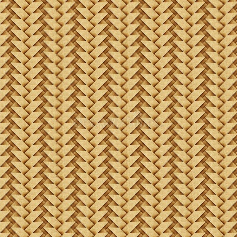 制作纸张被回收的织法 向量例证