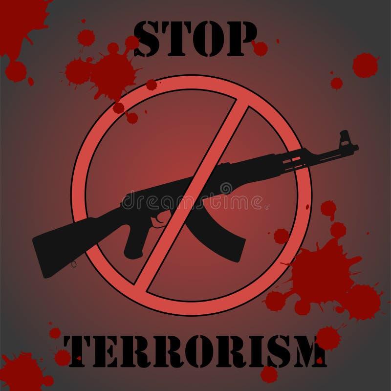 制止恐怖主义 皇族释放例证