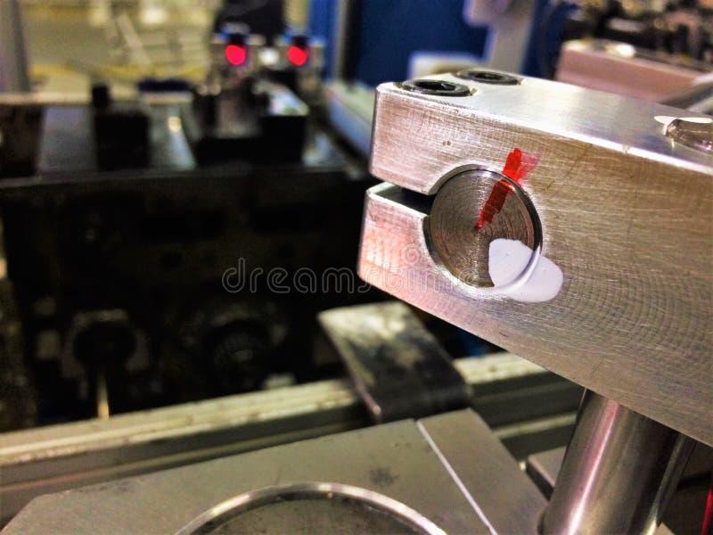 制造业的Datails 库存照片