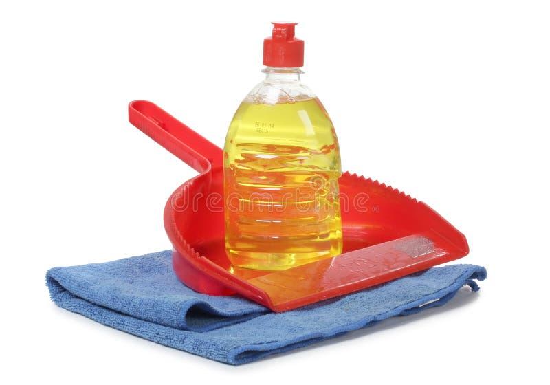 洗刷和清洁产品 库存照片