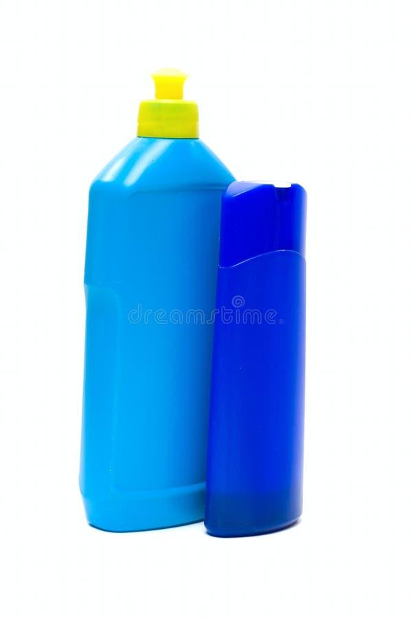 刺激液体肥皂 免版税库存照片