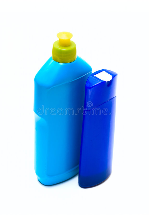 刺激液体肥皂 图库摄影