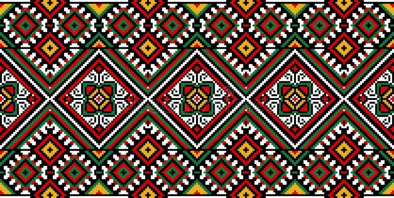 刺绣乌克兰语 库存图片
