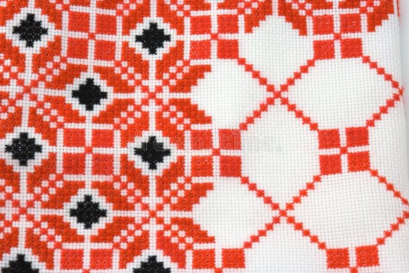 刺绣零件乌克兰语 免版税库存图片