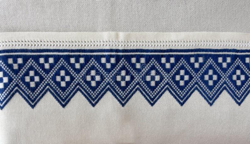 刺绣,从克罗地亚的纪念品 图库摄影