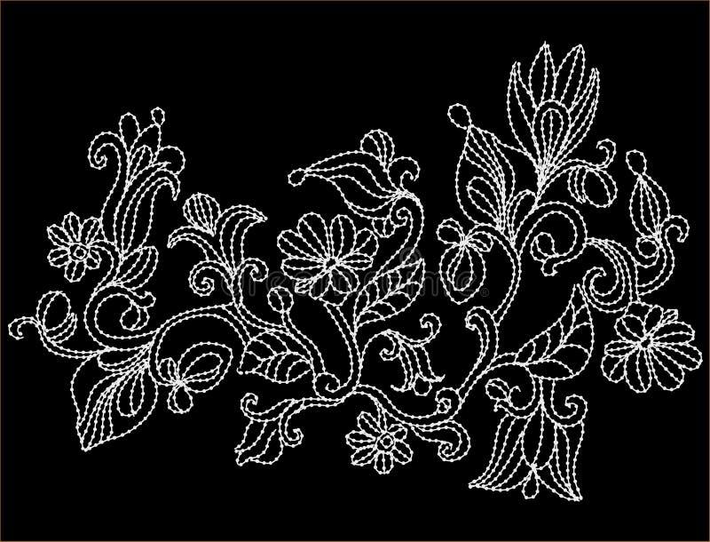 刺绣 免版税图库摄影