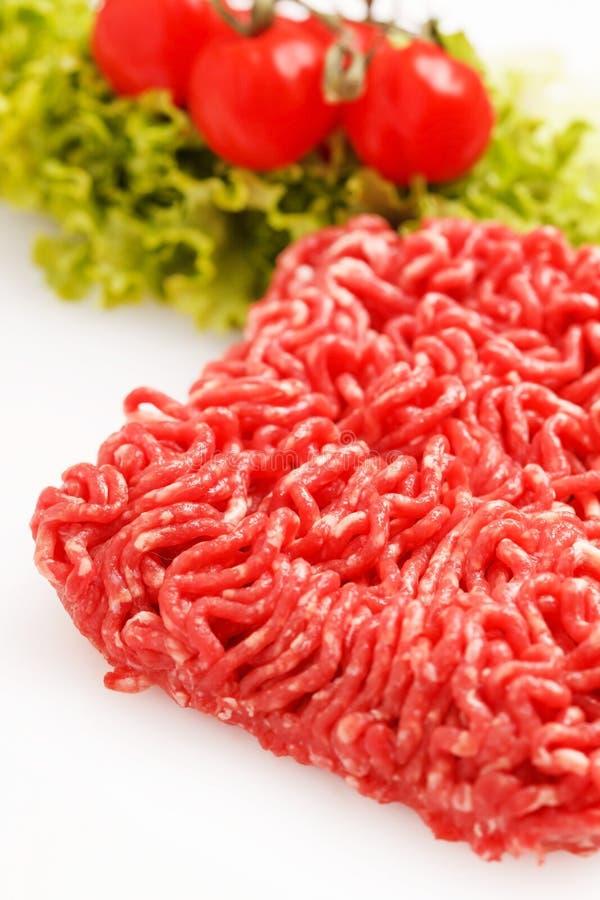 剁碎肉 免版税图库摄影