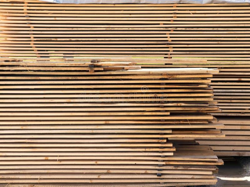 削减木云杉的委员会 木材,计划的板 免版税库存图片