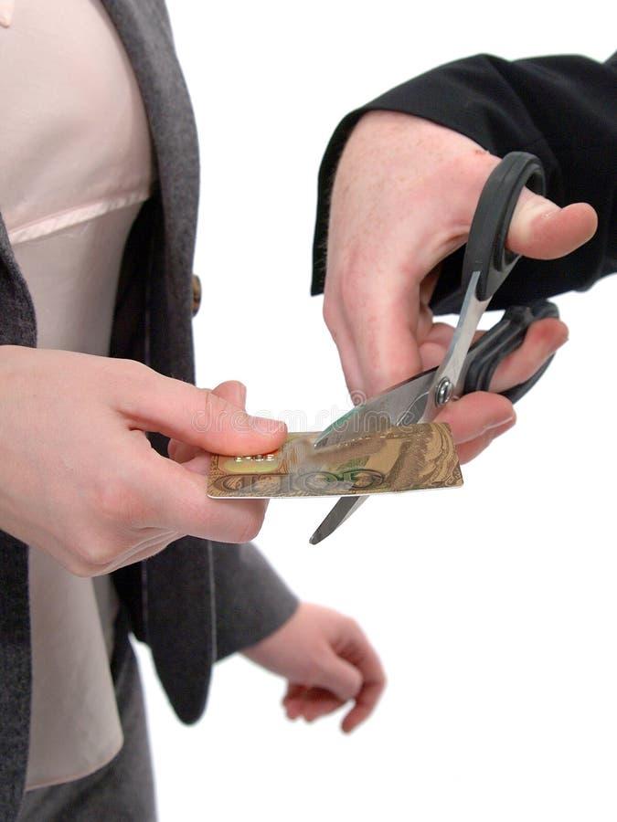削减预算 免版税图库摄影
