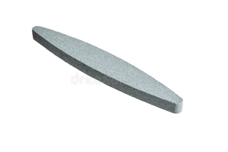 削尖石头 磨石或磨刀石磨削器 免版税库存图片