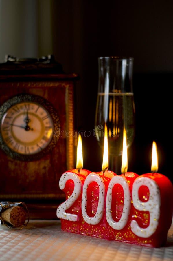 前夕荷兰新年度 免版税库存图片