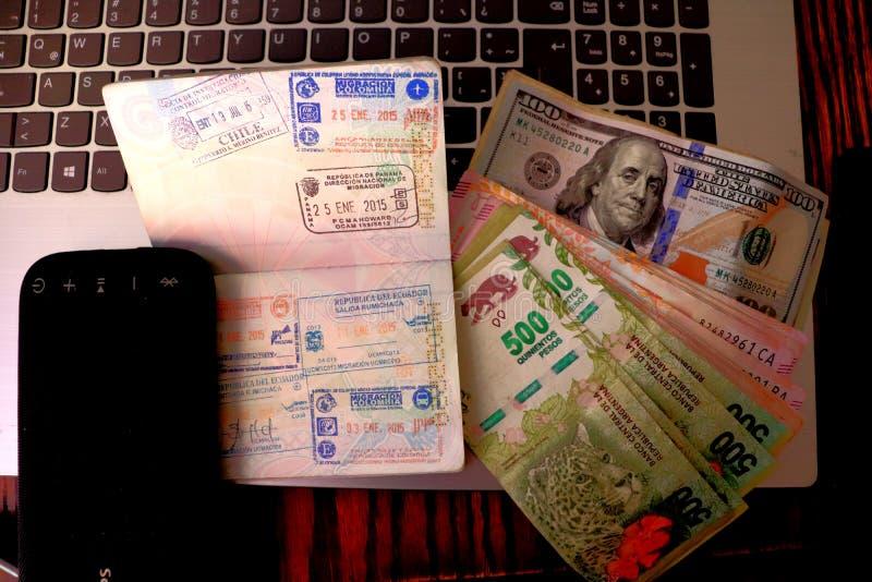前往布宜诺斯艾利斯 免版税库存图片