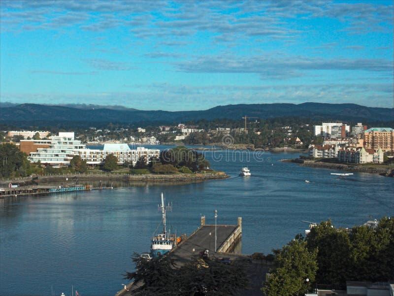 前往的港口 免版税库存照片