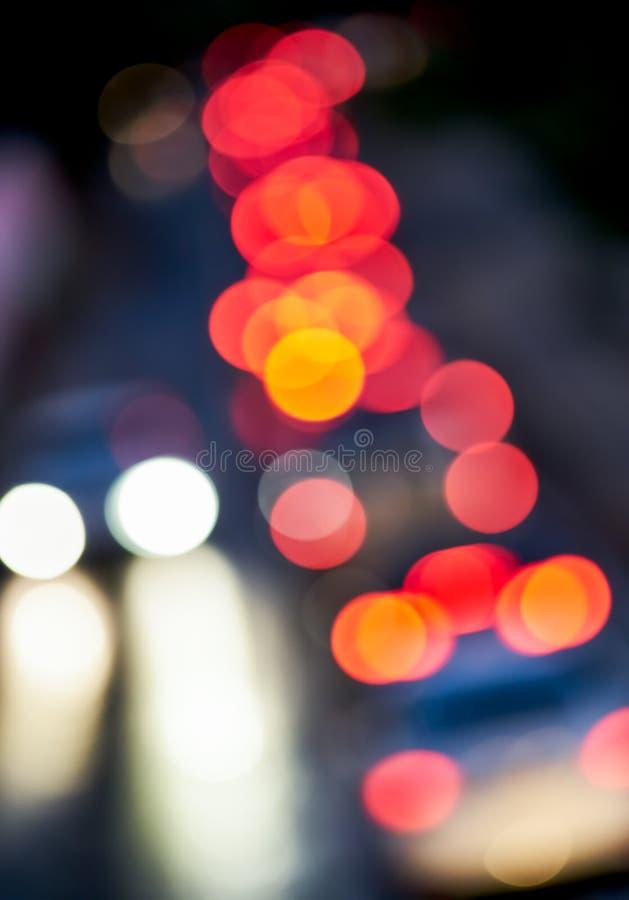 前灯的光 免版税库存图片