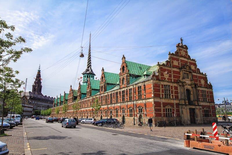 前证券交易所大厦-哥本哈根,丹麦 库存图片