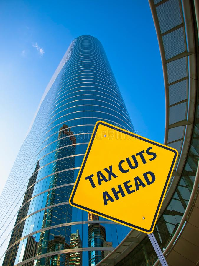 前面减税 免版税图库摄影