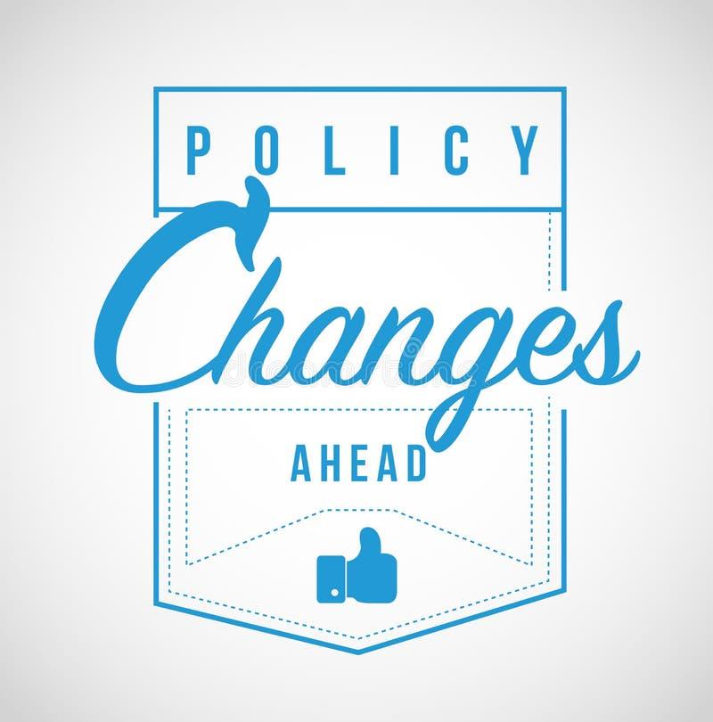 前面政策变化现代邮票消息 皇族释放例证