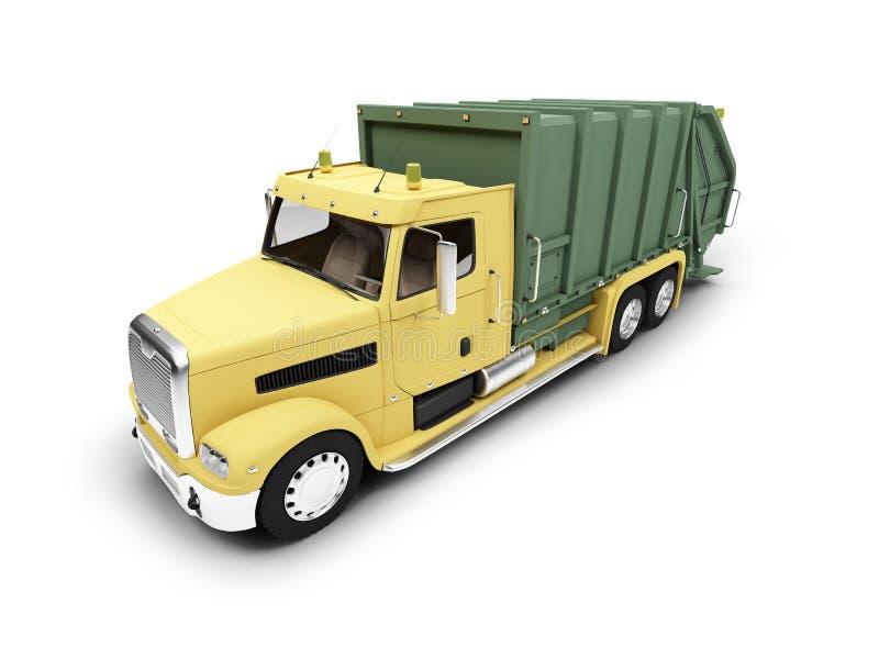 前面查出的trashcar视图 皇族释放例证