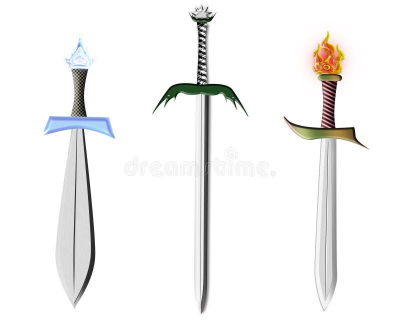 剑三 库存例证