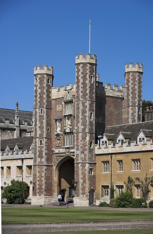 剑桥大学 库存照片