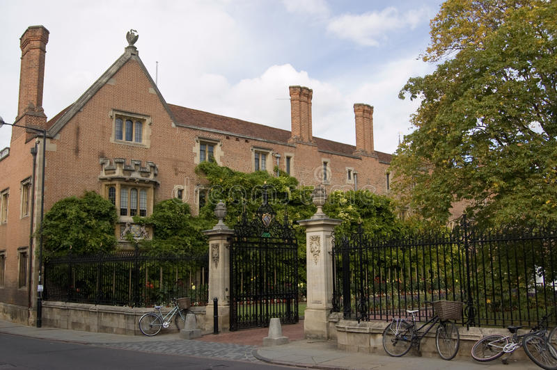 剑桥学院从良的妓女 库存照片