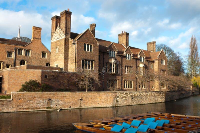 剑桥学院从良的妓女 免版税库存图片
