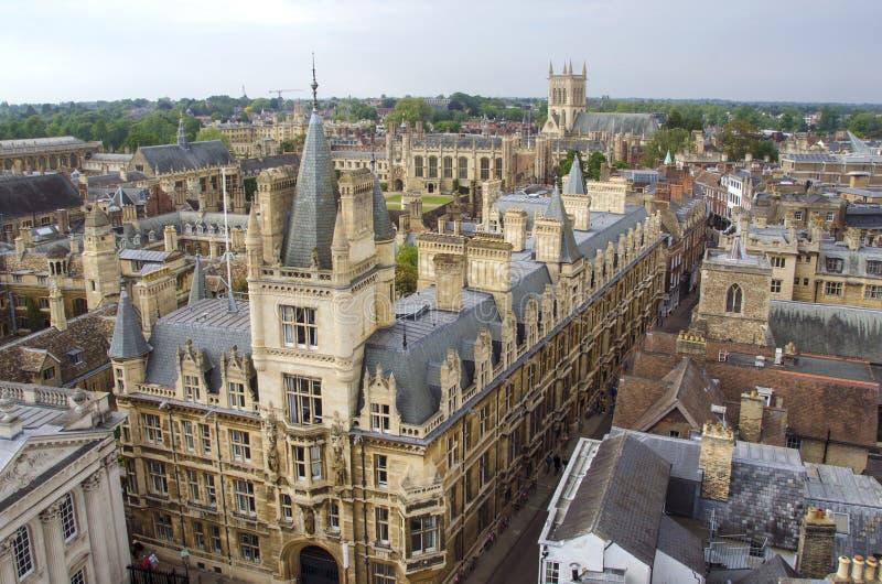 剑桥视图 免版税库存图片