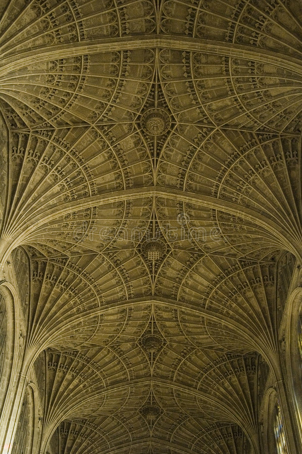 剑桥 免版税库存照片