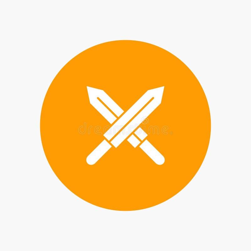 剑,爱尔兰,剑 向量例证