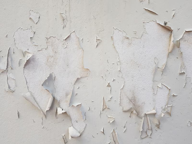 剥在具体纹理02的油漆 库存照片