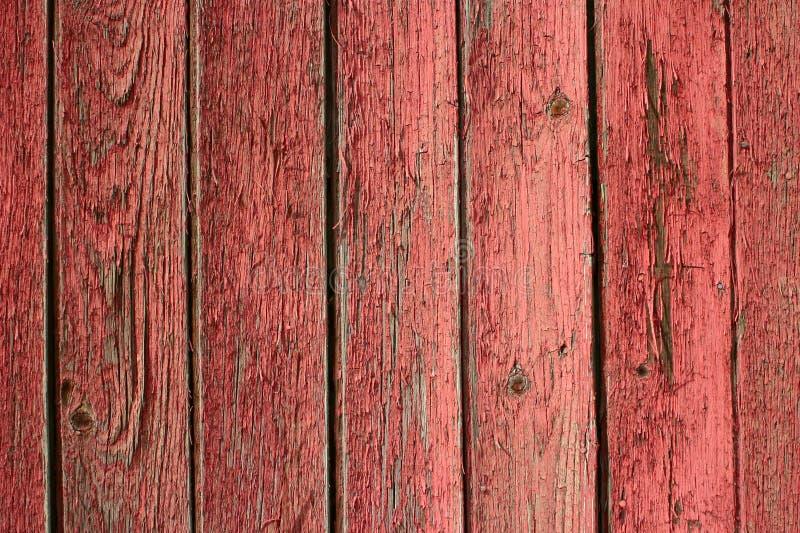 剥红色纹理的谷仓 免版税库存照片