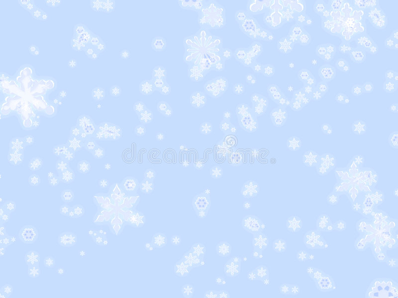 剥落冬天 向量例证