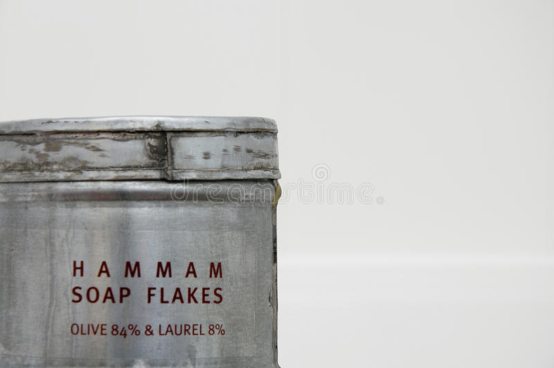 剥落hamam肥皂 库存照片