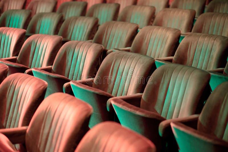 剧院位子 免版税库存照片