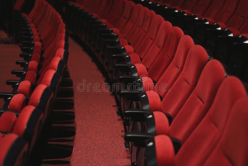 剧院位子 库存图片