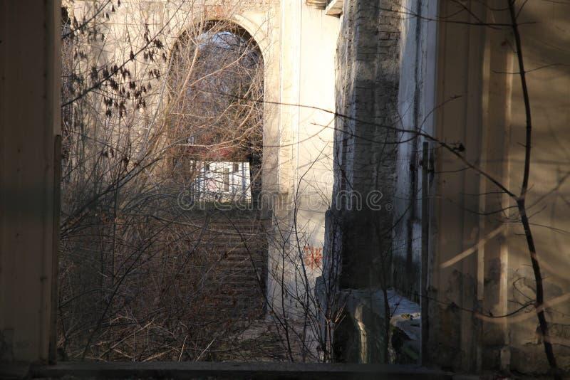 剧院的废墟 免版税库存照片
