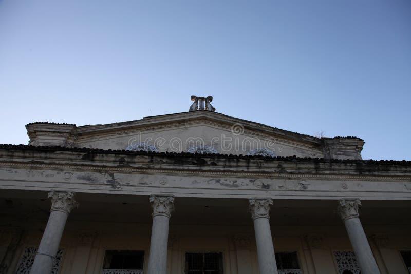 剧院的废墟 免版税图库摄影