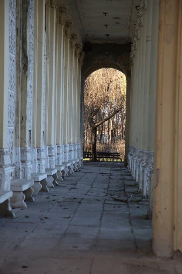 剧院的废墟 库存照片